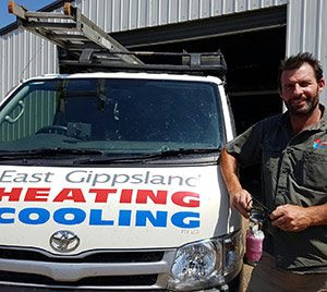Service to existing air conditioners and heating systems